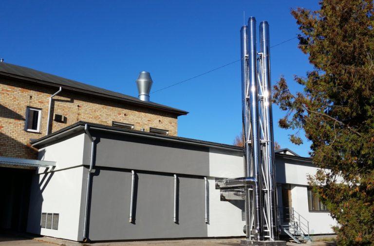 Bulduru dārzkopības vidusskolas katlu mājas rekonstrukcija
