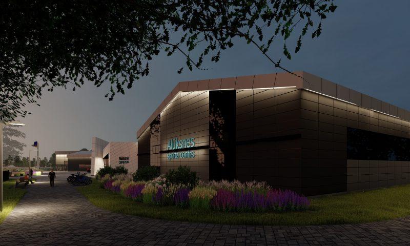 MONUM jaunajā objektā top Izglītības un sporta centrs